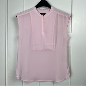 J. Crew 365 XS pink shell top